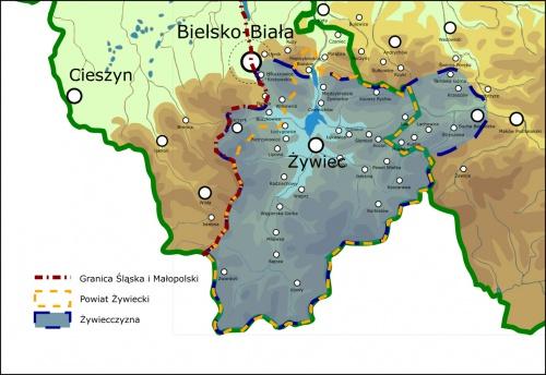 Przejścia i przepisy graniczne - Beskid Żywiecki